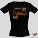 Tee-shirt femme golfistes