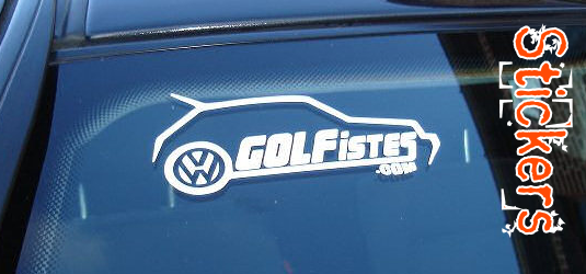 Sticker Golfistes
